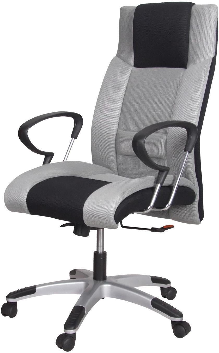 Kancelárske kreslo PREMIÉR sivá/čierna K4