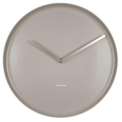 Karlsson 5786GY dizajnové nástenné hodiny, pr. 35 cm