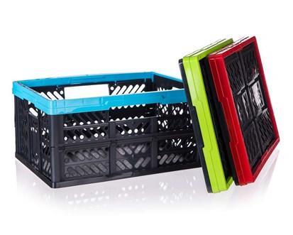 KEEEPER Přepravka plastová nosnost 20 kg, 47,5 x 34,5 x 23 cm, mix barev