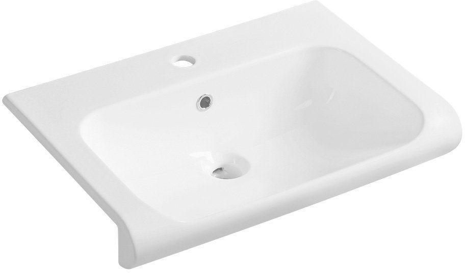 KERASAN - INKA keramické umývadlo 60x40cm, biela 341101