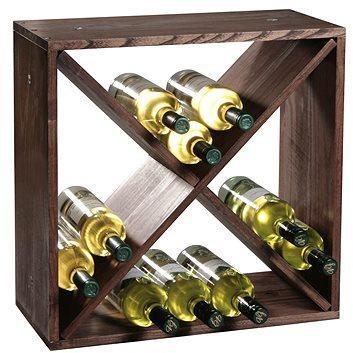 Kesper Stojan na víno z borovice 50 × 50 × 25 cm