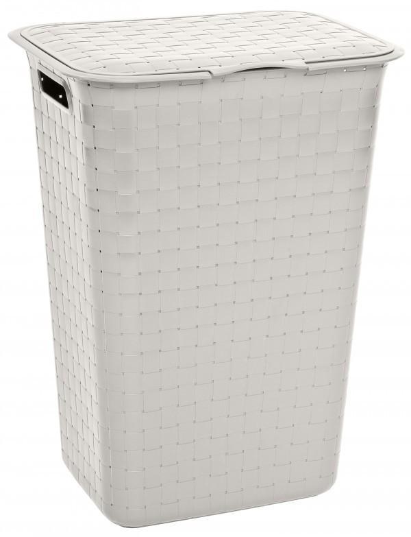 KETER  - Kôš Umelá hmota na špinavé prádlo 48L biely