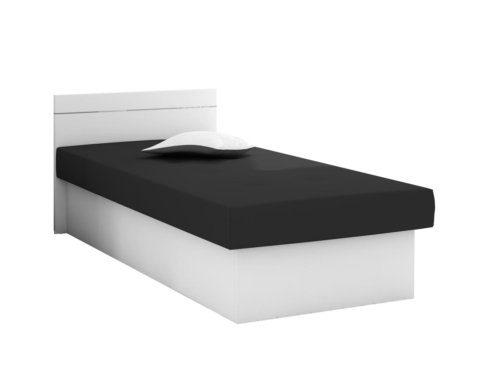 KF Jednolôžková posteľ Emily Plus biela