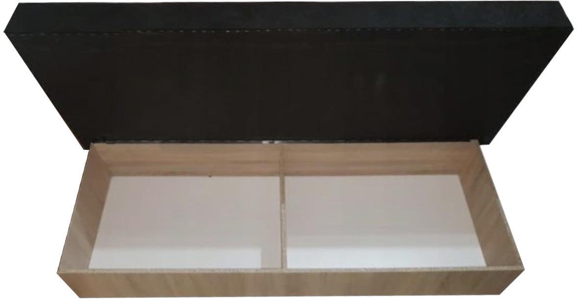 KF Posteľ s úložným priestorom Emily dub sonoma
