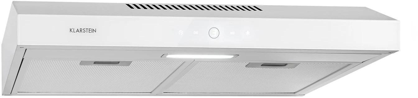 Klarstein Contempo Neo, digestor na zabudovanie pod skrinky, 60 cm, 175 m³/h, LED, ušľachtilá oceľ, biely