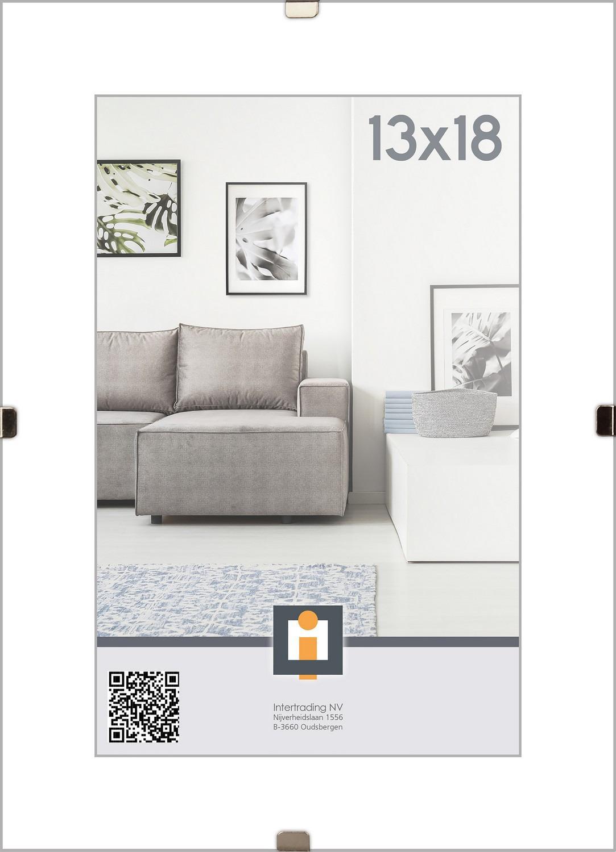 Klipový rámečk 13x18 cm