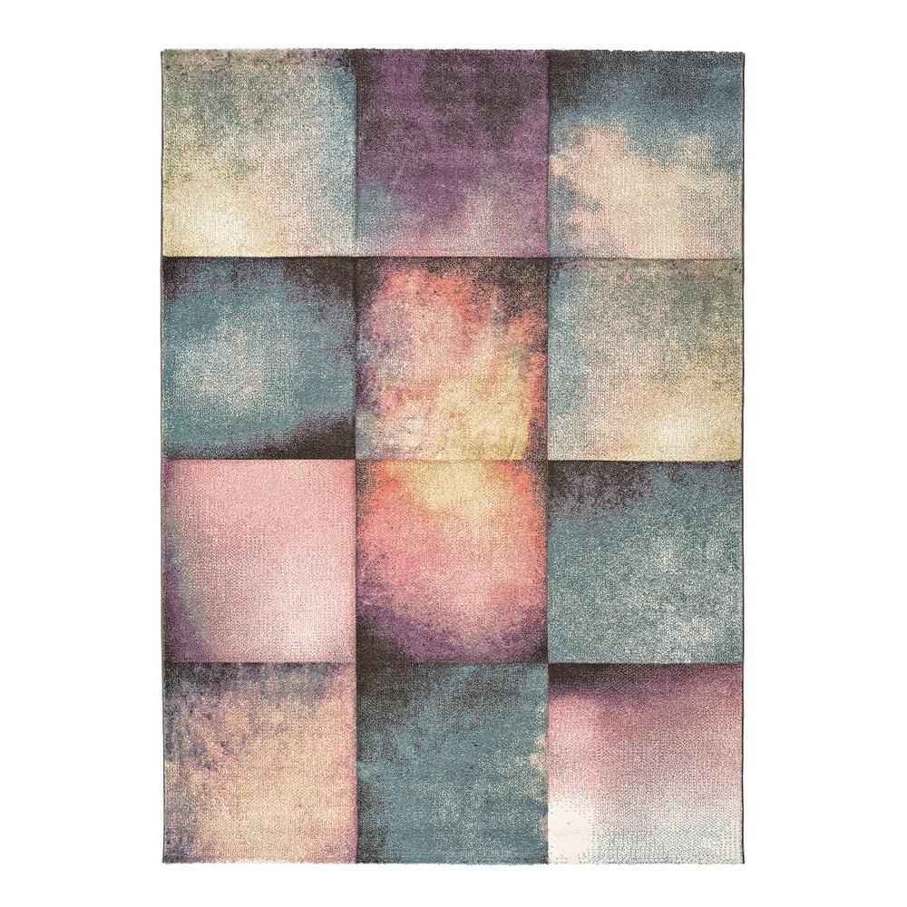 Koberec Universal Pinky Squaro Multi, 140 × 200 cm