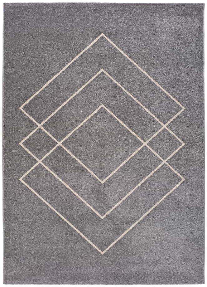 Koberec v striebornej farbe koberec Universal Breda, 230 x 160 cm