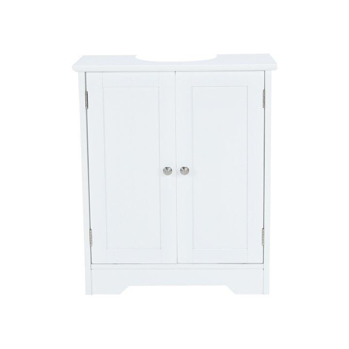 KONDELA Atene Typ 3 kúpeľňová skrinka pod umývadlo biela