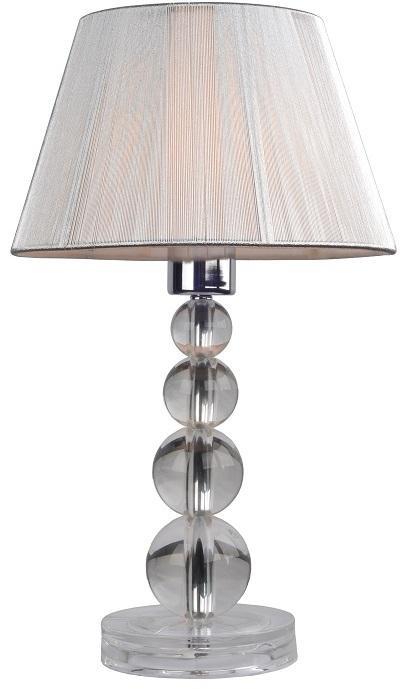 KONDELA Cinda Typ 14-ME-SMPEQ stolná lampa strieborná