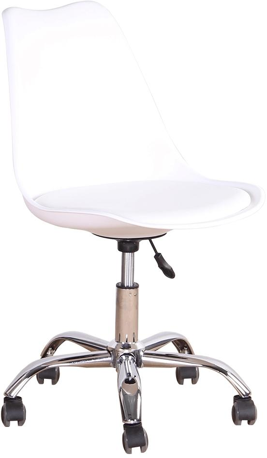 KONDELA Darisa New kancelárska stolička biela