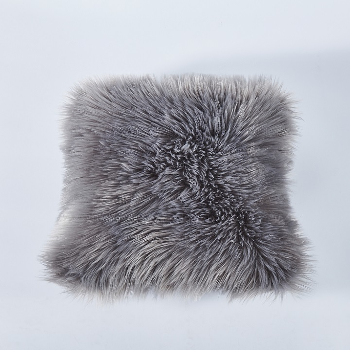 KONDELA Ebona Typ 5 vankúš 45x45 cm sivá