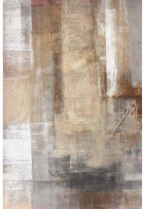 KONDELA Esmarina Typ 1 koberec hnedá / sivá