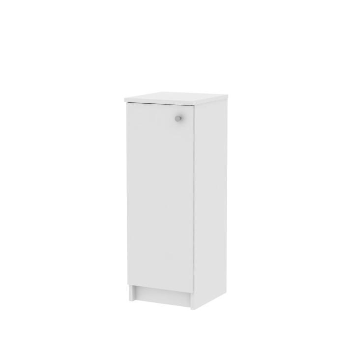 KONDELA Galena SI07 kúpeľňová skrinka biela