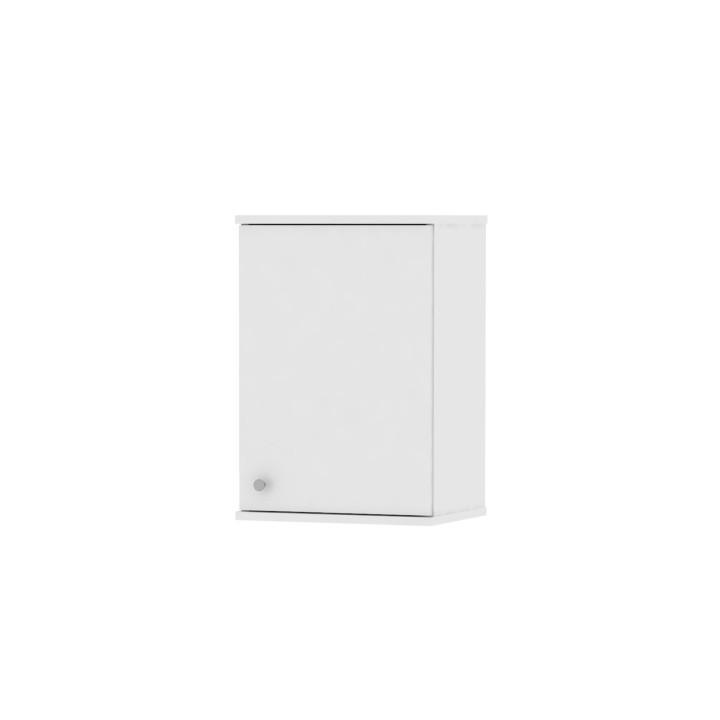 KONDELA Galena SI10 kúpeľňová skrinka na stenu biela