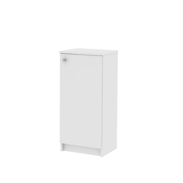 KONDELA Galena SI12 kúpeľňová skrinka biela