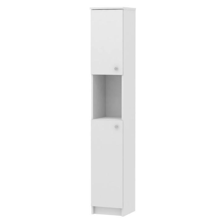KONDELA Galena SI14 kúpeľňová skrinka biela