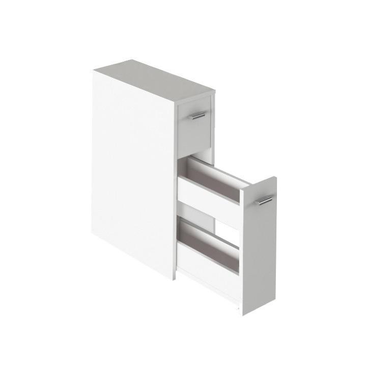 KONDELA Natali Typ 7 kúpeľňová skrinka biela