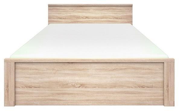 KONDELA Norty Typ 8 160 manželská posteľ dub sonoma