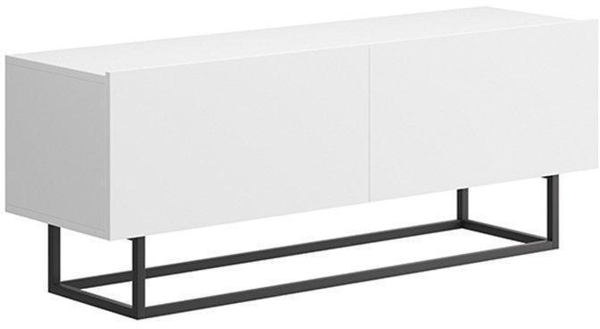 KONDELA Spring ERTV 120 tv stolík biela