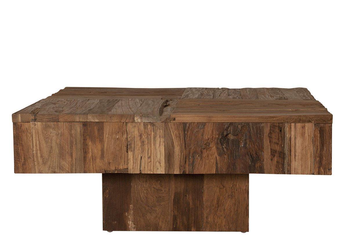 Konferenčný stolík SEADRIFT – 80 × 80 × 35 cm