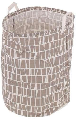Kôš na bielizeň 42 x 32cm - hnedý