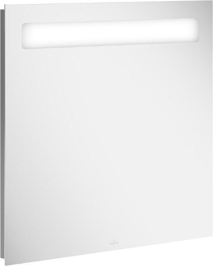 Koupelnové zrcadlo s osvětlením a audio systémem VILLEROY & BOCH 800x750 mm