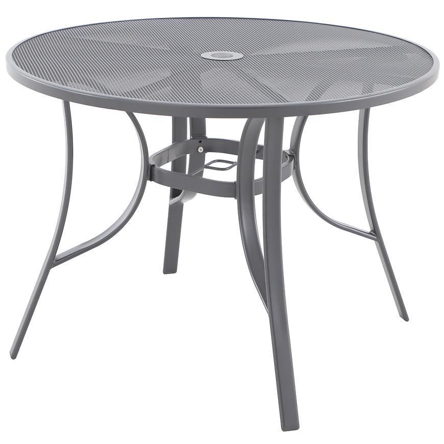 Kovový stôl Sven 100x71cm