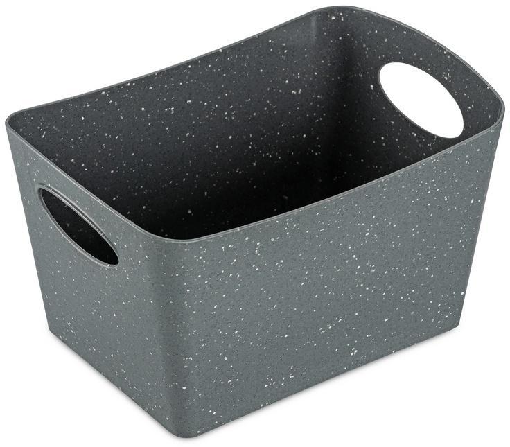 Koziol Úložný box Boxxx S Organic sivá, 1 l, 12,8 x 18,7 x 10,8 cm