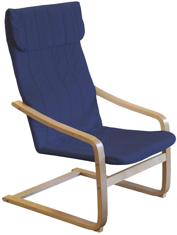 Kreslo LISA modré K52