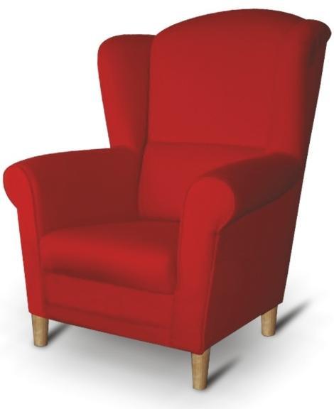 Kreslo - Tempo Kondela - Charlot červená. Sme autorizovaný predajca Tempo-Kondela.