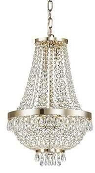 Krištáľové svietidlo IDEAL LUX Caesar SP6 Oro 114729