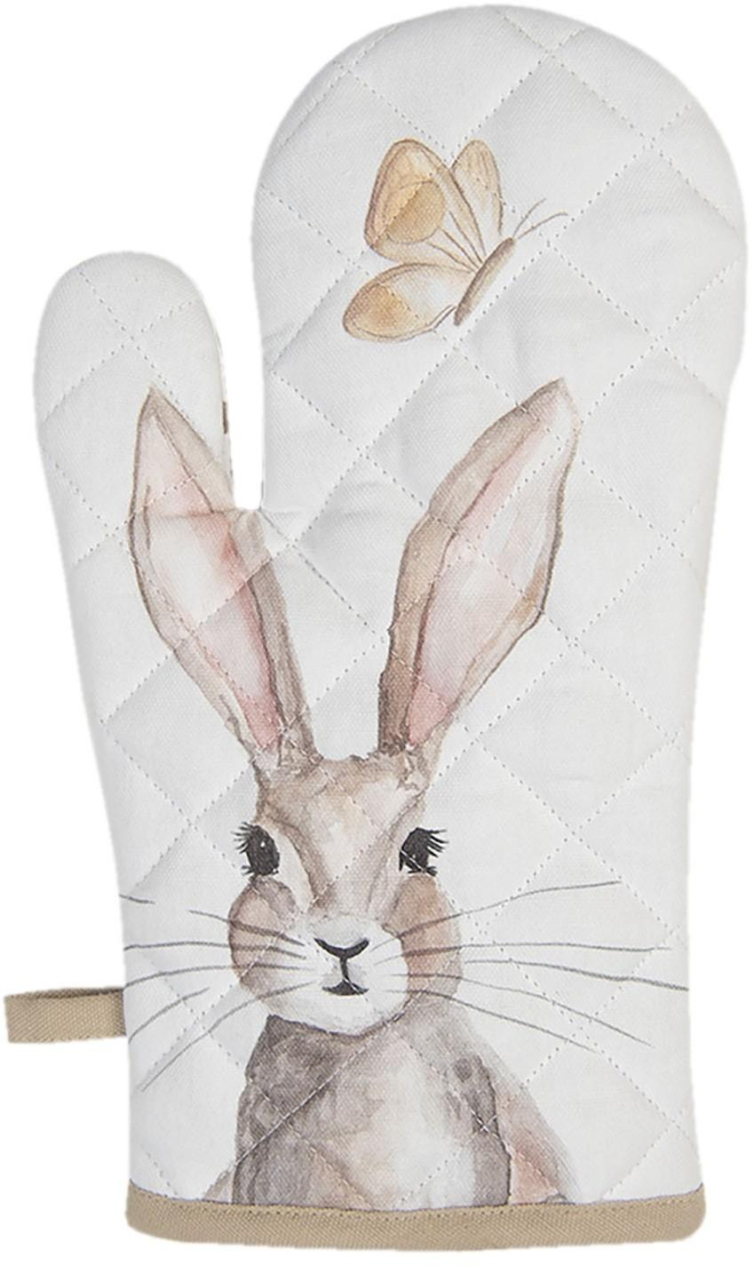 Kuchynská chňapka s motívom králikov Rustic Easter Bunny - 16 * 30 cm