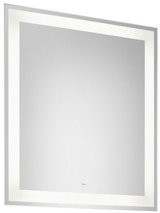 Kúpeľňové zrkadlo s LED osvetlením ROCA IRIDIA 80 × 70 cm