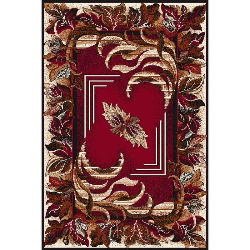 Kusový koberec Agnella Optimal Agawa bordo, 50x70cm