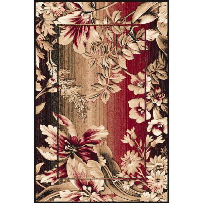 Kusový koberec Agnella Optimal Datura bordo, 50x70cm