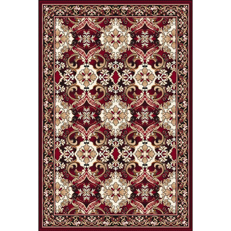 Kusový koberec Agnella Optimal Emys bordo, 50x70cm