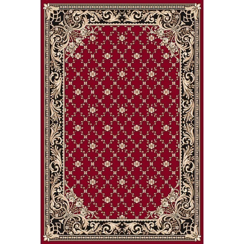 Kusový koberec Agnella Optimal Felis bordo, 50x70cm