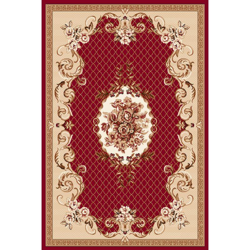 Kusový koberec Agnella Optimal GADUS bordo, 50x70cm