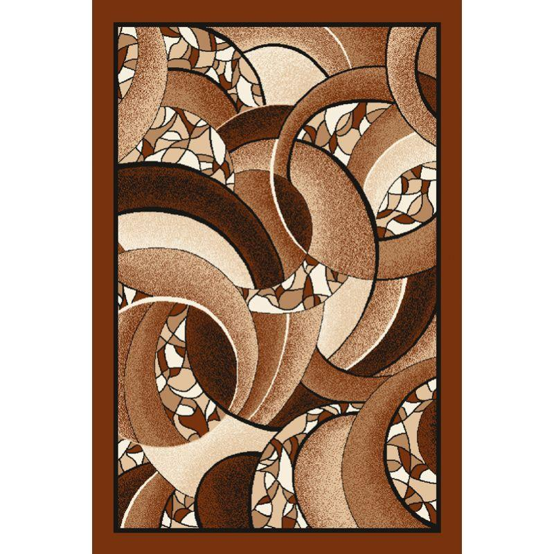 Kusový koberec Agnella Optimal Largo svetlohnedý, 50x70cm