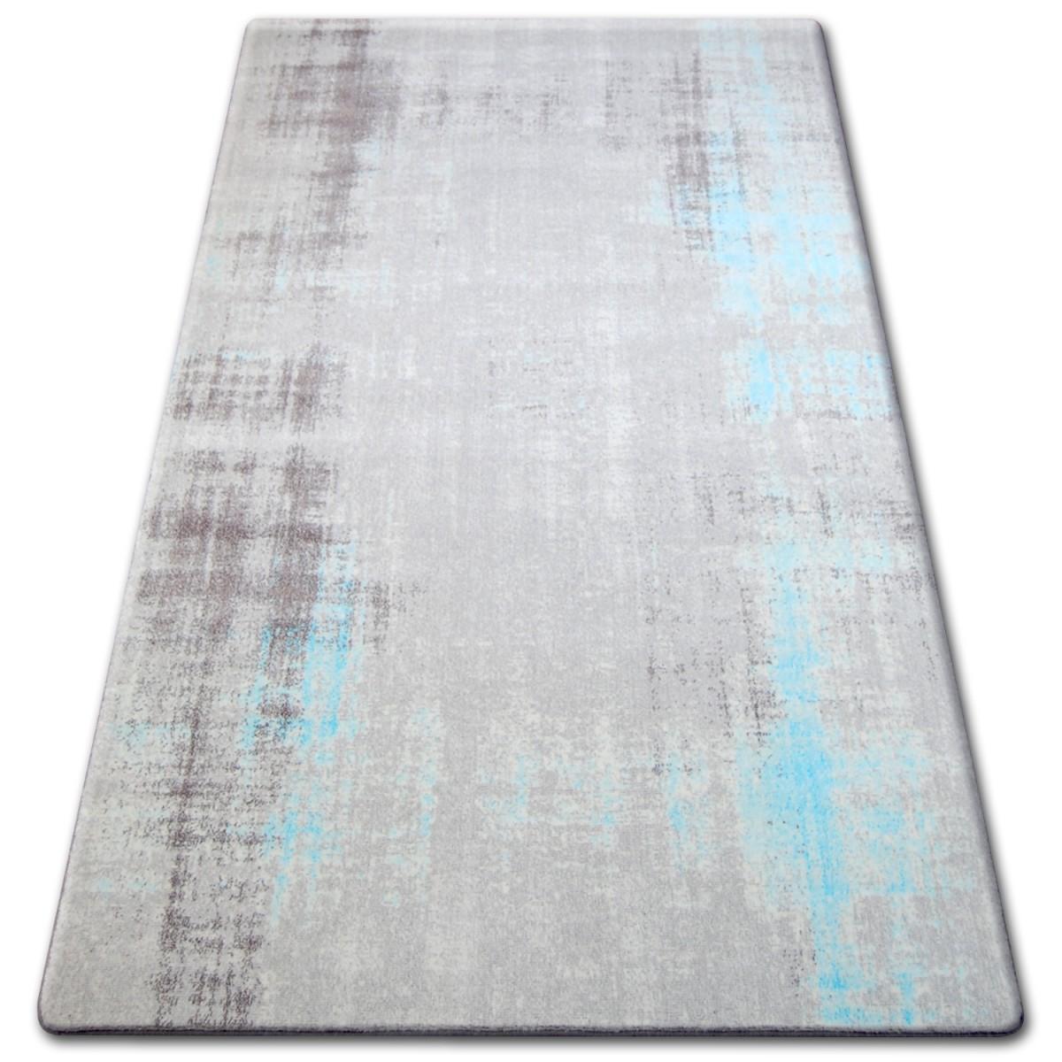 Kusový koberec AKRYLOVÝ PATARA 0061 krémový/tyrkysový
