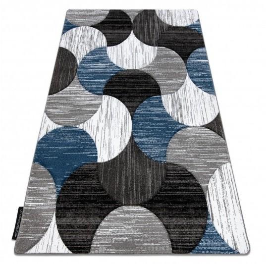 Kusový koberec ALTER Geo mušľa modrý