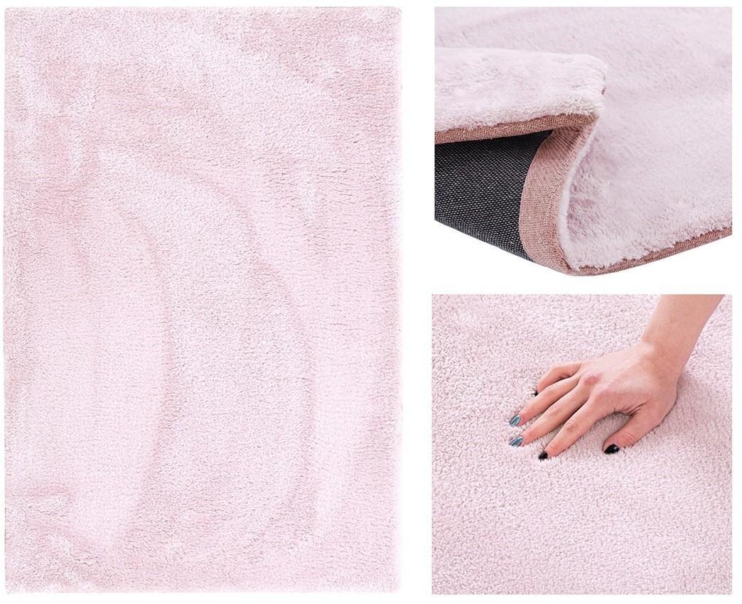 Kusový koberec AmeliaHome Morko ružový