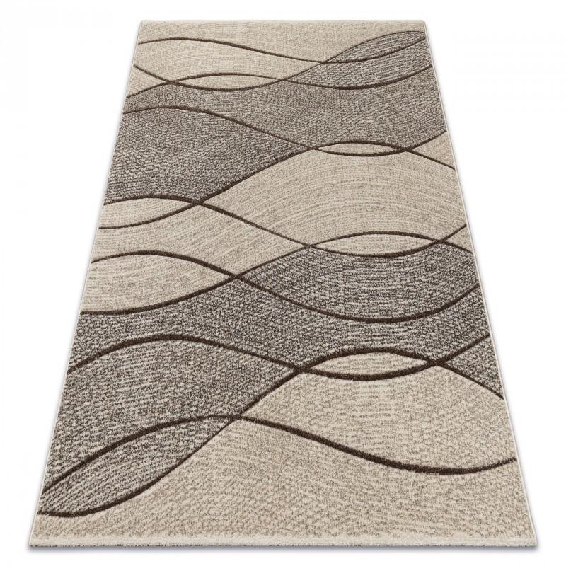 Kusový koberec FEEL Waves béžový