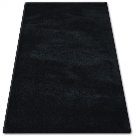 Kusový koberec SHAGGY MICRO čierny