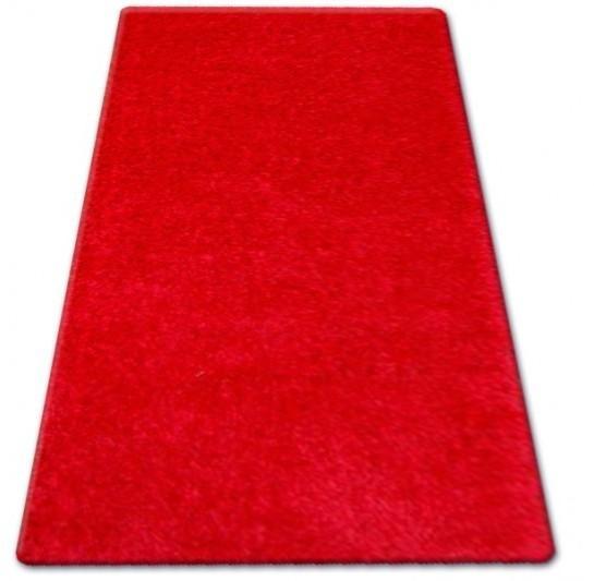 Kusový koberec SHAGGY NARIN červený
