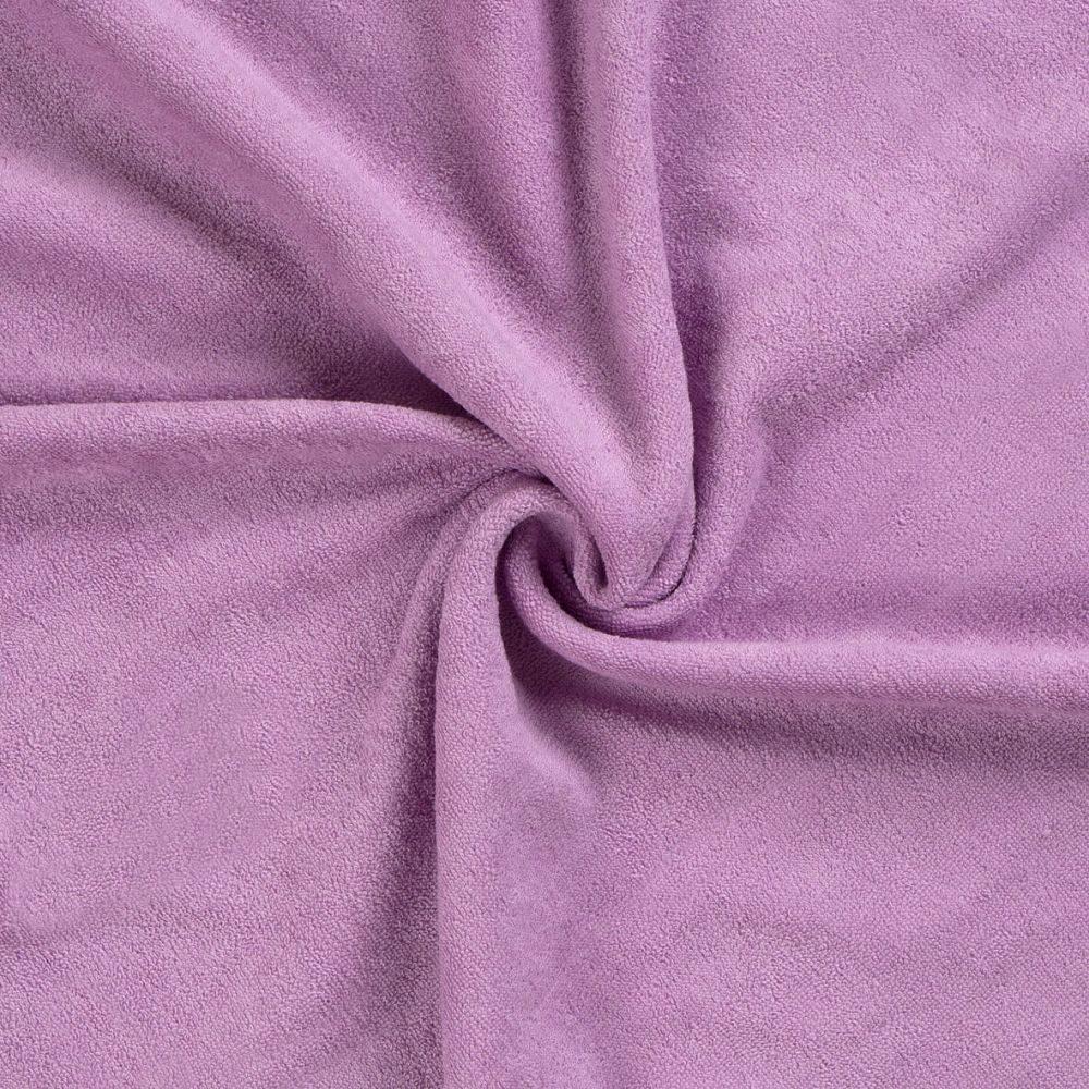 Kvalitex Froté plachta (80 x 200 cm) - svetlo fialová