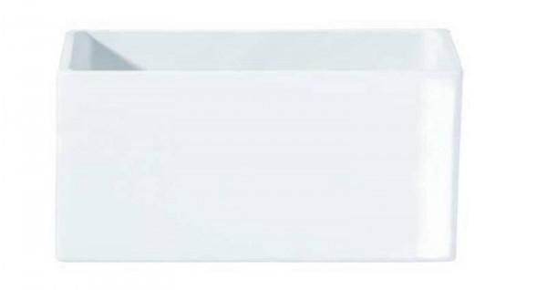Květináč QUADRO ASA Selection bílý, 12 cm