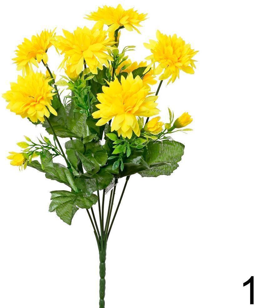 Kytica chryzantéma žltá 35cm 201990Z