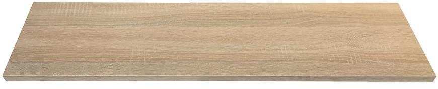 Laminátová regalova polica 1,8x20x120cm sonoma